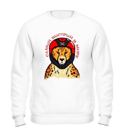 Свитшот Быстрый в мире леопард