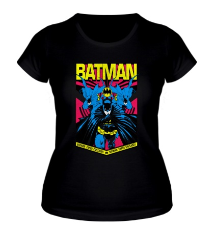 Женская футболка Batman Caped Crusader