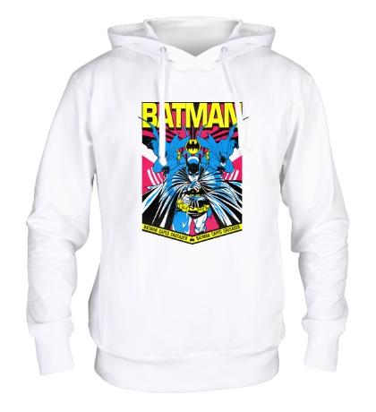 Толстовка с капюшоном Batman Caped Crusader