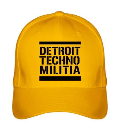 Бейсболка Detroit techno militia