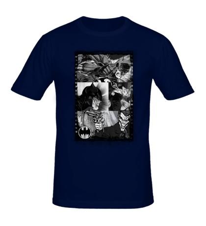 Мужская футболка Batman & Joker Comics
