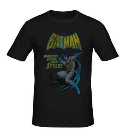 Мужская футболка Batman: Fighting Crime