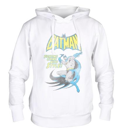 Толстовка с капюшоном Batman: Fighting Crime