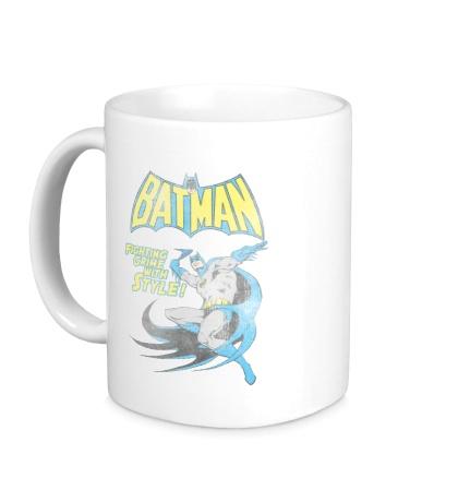 Керамическая кружка Batman: Fighting Crime