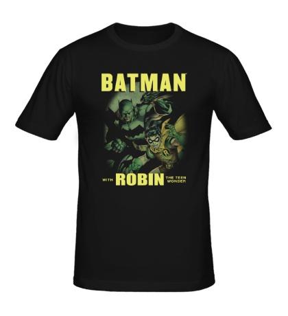Мужская футболка Batman and Robin