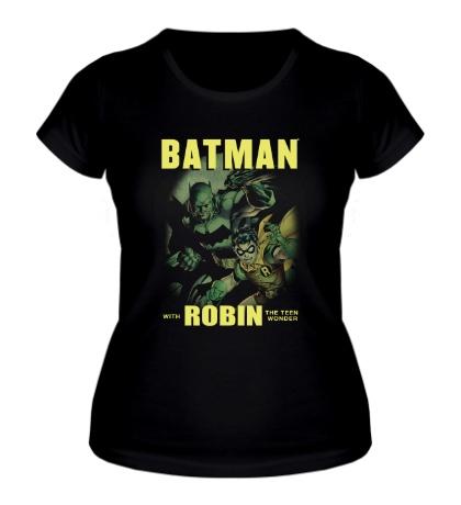 Женская футболка Batman and Robin