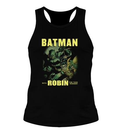 Мужская борцовка Batman and Robin