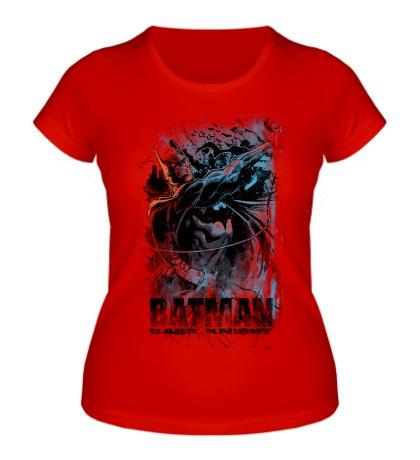 Женская футболка Batman: Hero of Gotham