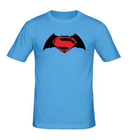 Мужская футболка Batman vs Superman
