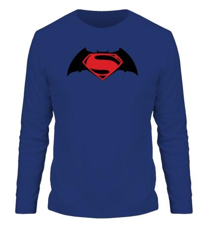 Мужской лонгслив Batman vs Superman