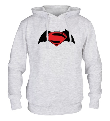 Толстовка с капюшоном Batman vs Superman