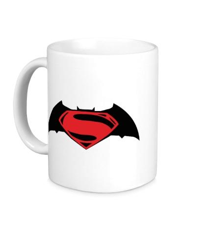 Керамическая кружка Batman vs Superman
