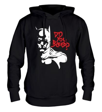 Толстовка с капюшоном Batman: Do you bleed?