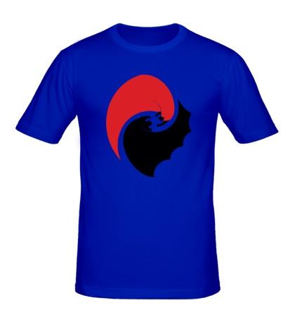 Мужская футболка Batman and Superman