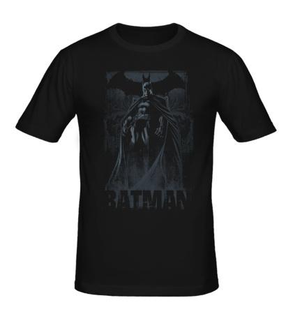 Мужская футболка Dark Knight of Gotham City