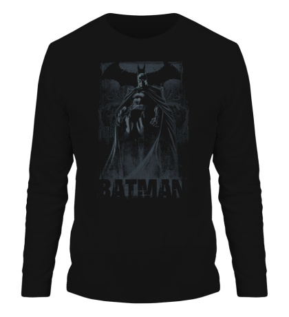 Мужской лонгслив Dark Knight of Gotham City