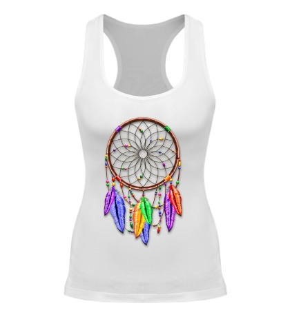 Женская борцовка Dreamcatcher Rainbow Feathers