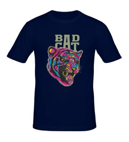 Мужская футболка Bad cat