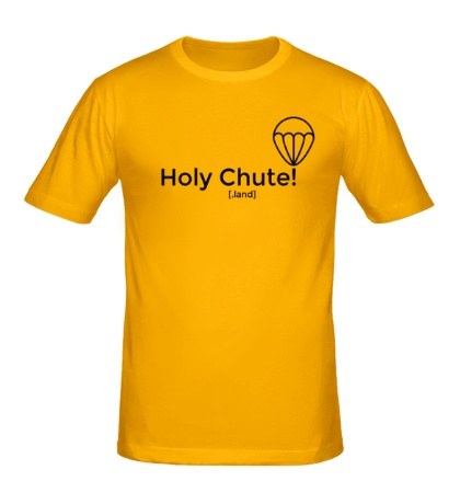 Мужская футболка Holy Chute!