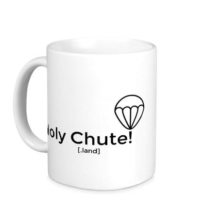 Керамическая кружка Holy Chute!