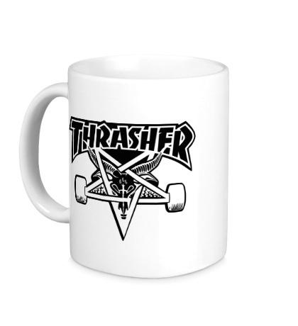 Керамическая кружка «Thrasher»