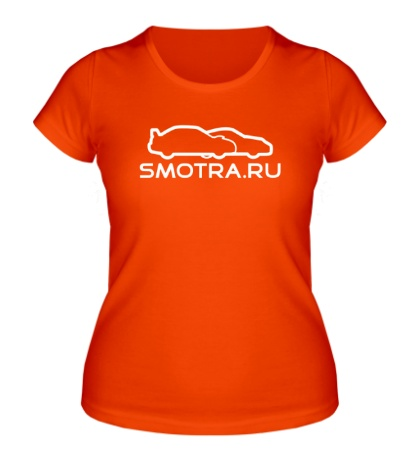 Женская футболка SMOTRA.RU