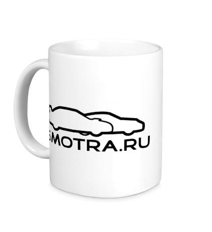 Керамическая кружка SMOTRA.RU