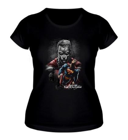 Женская футболка Superman: Son of Krypton