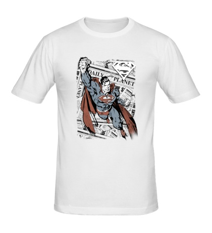 Мужская футболка Superman Tabloids