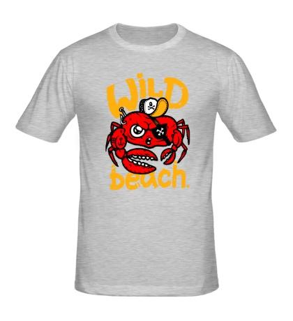 Мужская футболка Wild beach