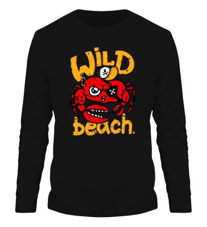Мужской лонгслив Wild beach