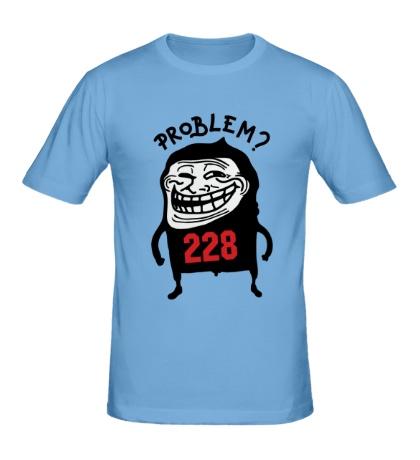 Мужская футболка Trollface Problem