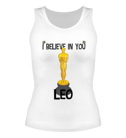 Женская майка Belive in you Leo
