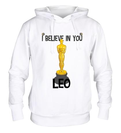 Толстовка с капюшоном Belive in you Leo