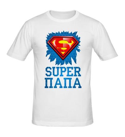 Мужская футболка Superman Папа