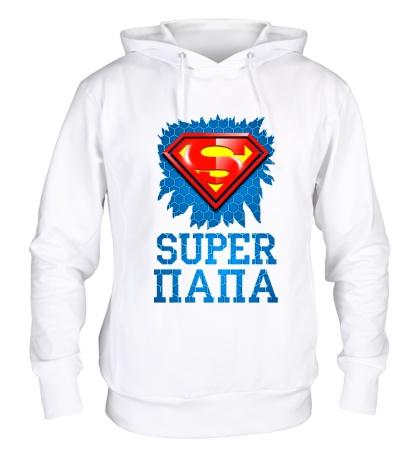 Толстовка с капюшоном Superman Папа