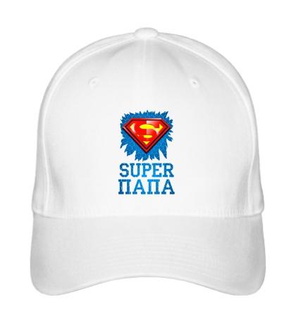 Бейсболка Superman Папа