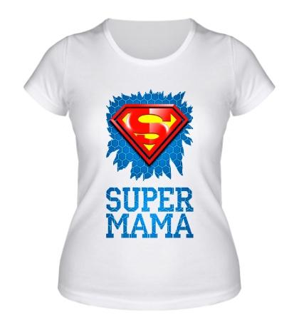 Женская футболка Superman Мама