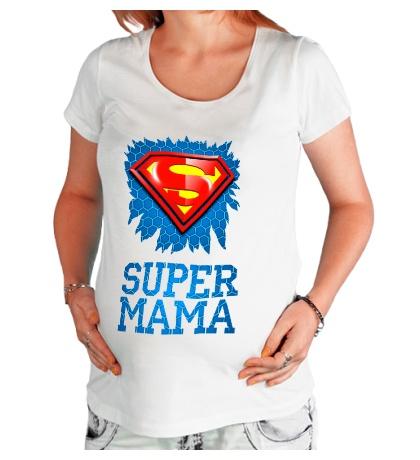Футболка для беременной Superman Мама