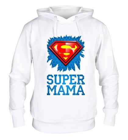 Толстовка с капюшоном Superman Мама
