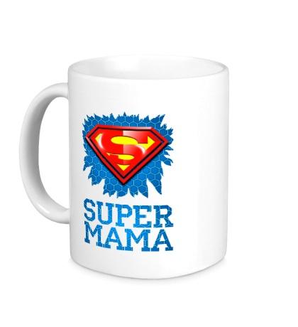 Керамическая кружка Superman Мама