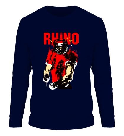 Мужской лонгслив Blood Rhino