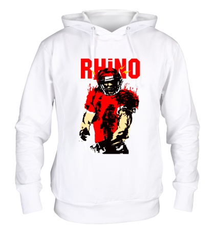 Толстовка с капюшоном Blood Rhino