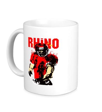 Керамическая кружка Blood Rhino