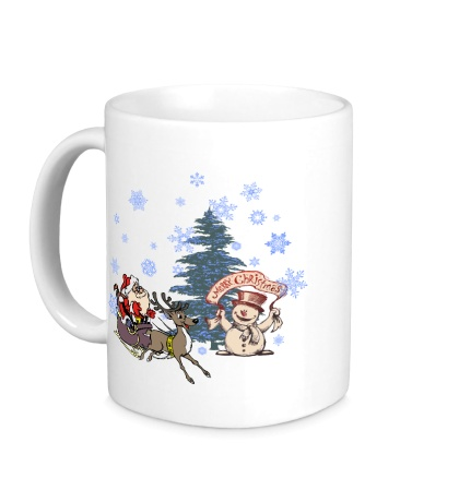 Керамическая кружка Merry Christmas