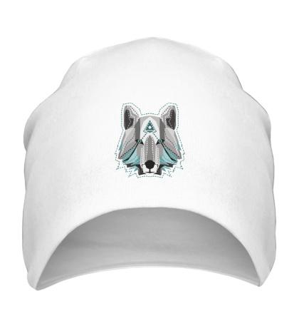 Шапка Голова волка
