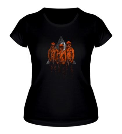 Женская футболка Мертвые астронавты