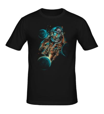 Мужская футболка Космический удар