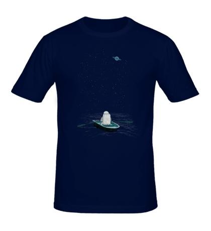 Мужская футболка Космическая Одиссея