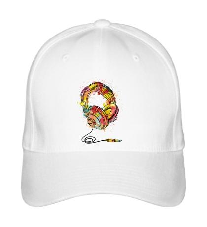 Бейсболка Цветные наушники